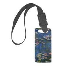 Monet Water Lillies Art Luggage Tag