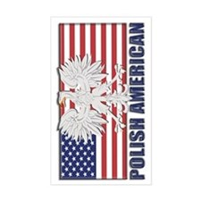 Polish American Stickers