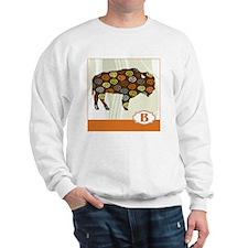 B is for Bison Sweatshirt