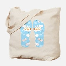 Whimsical Flying Cows Tote Bag