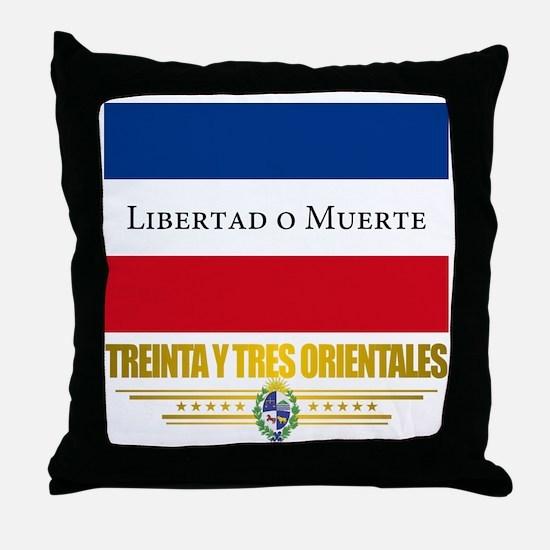 Treinta y Tres Orientales Throw Pillow
