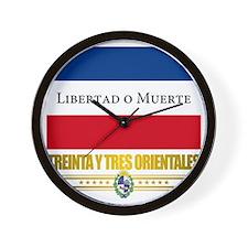 Treinta y Tres Orientales Wall Clock