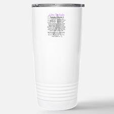 Libra traits Travel Mug