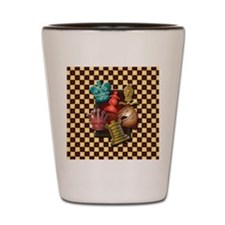 Chess Boxes Shot Glass