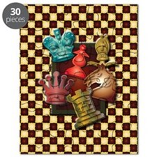 Chess Boxes Puzzle