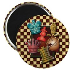 Chess Boxes Magnet