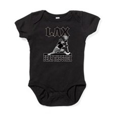 LAX Fear The Stick Baby Bodysuit