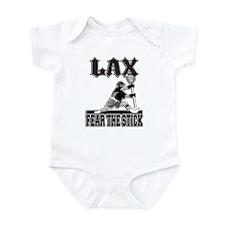 LAX Fear The Stick Infant Bodysuit