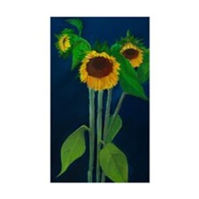 Donna's Sunflowers Decal