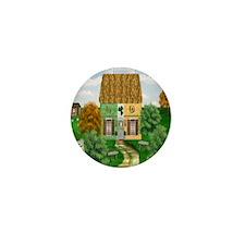 St. Patricks Cottage Mini Button