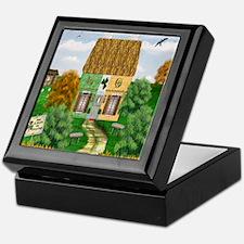 St. Patricks Cottage Keepsake Box