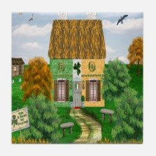 St. Patricks Cottage Tile Coaster