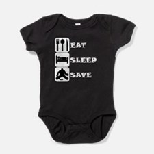 Eat Sleep Save Baby Bodysuit