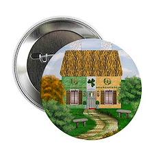 """St. Patricks Cottage 2.25"""" Button"""