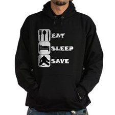 Eat Sleep Save Hoodie
