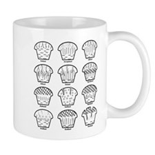 Dirt Cake Diagram Mugs