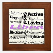 Libra Framed Tile