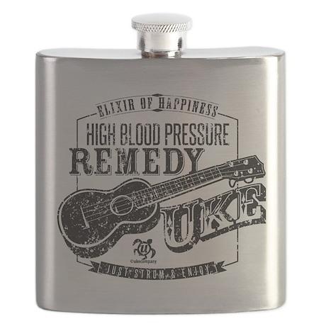 Ukulele Medicine Flask