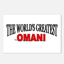 """""""The World's Greatest Omani"""" Postcards (Package of"""