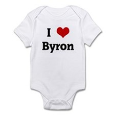 I Love Byron Infant Bodysuit