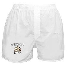 Bridesmaid DIVA Boxer Shorts