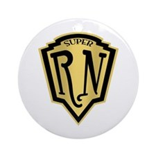 Super RN Ornament (Round)
