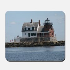Rockland Light Lighthouse Mousepad