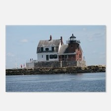 Rockland Light Lighthouse Postcards (Package of 8)