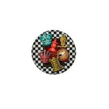 Chess Boxes Mini Button