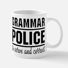 Grammar Police Mugs