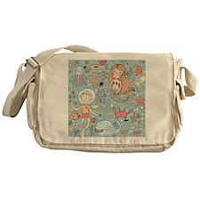 Whimsical Sea Life Messenger Bag