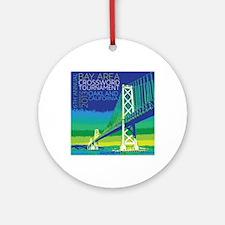 2013 Bay Area Crossword Tournament Round Ornament