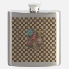 Chess Boxes Flask