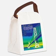 Crossword Tournament Canvas Lunch Bag