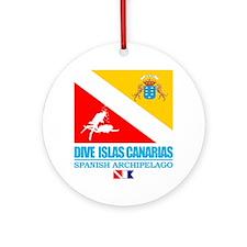 Dive Islas Canarias Round Ornament