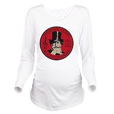 Giuseppe Verdi Long Sleeve Maternity T-Shirt