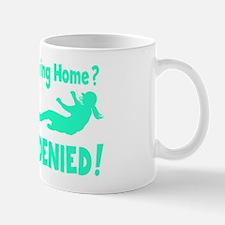 blue2 Access Denied, retro on black Mug