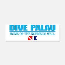 Dive Palau Car Magnet 10 x 3