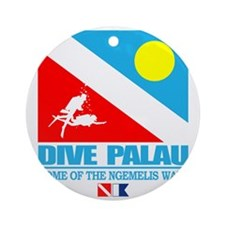 Dive Palau Round Ornament