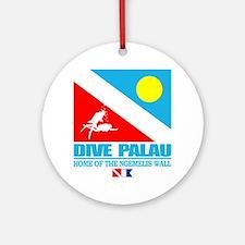 Dive Palau Round Ornament