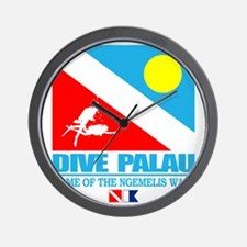 Dive Palau Wall Clock