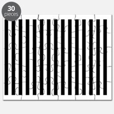 Black and White Stripes Puzzle