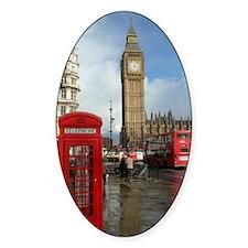 London phone box Decal