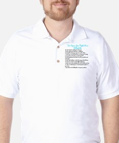 Ten Signs You Might Be a Bibliophile Golf Shirt
