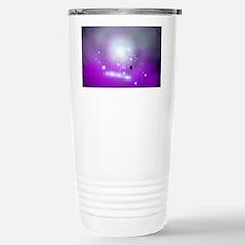 Purple Space Stainless Steel Travel Mug