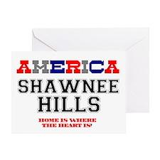 AMERICAN REGIONS - SHAWNEE HILLS Greeting Card