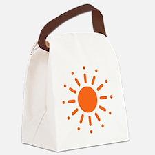 Sun / Soleil / Sol / Sonne / Sole Canvas Lunch Bag