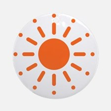 Sun / Soleil / Sol / Sonne / Sole / Round Ornament