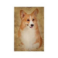 Corgi Rectangle Magnet