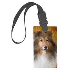 Sheltie Luggage Tag